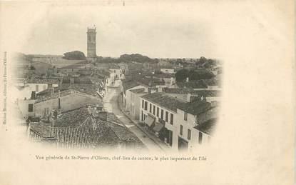 """/ CPA FRANCE 17 """"Saint Pierre d'Oleron, chef lieu de canton"""""""