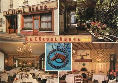 """CPSM FRANCE 41 """"Montoire sur Le Loir, hôtel du cheval Rouge"""""""
