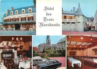 """CPSM FRANCE 41 """"Cour Cheverny, hôtel des trois marchands """""""