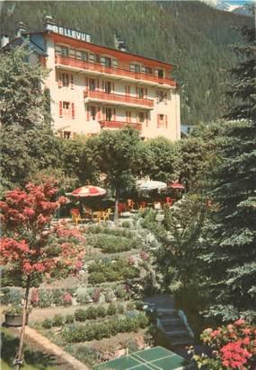 "CPSM FRANCE 74 ""Chamonix, hôtel Bellevue"""