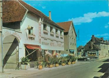 """CPSM FRANCE 89 """"Flogny, hôtel de la poste """""""