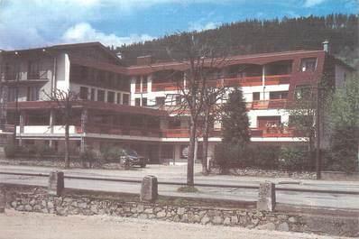 """CPSM FRANCE 88 """"Gerardmer, hôtel Roméo, restaurant de la route verte"""""""