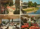 """95 Val D'oise CPSM FRANCE 95 """"L'Isle Adam, hôtel restaurant le Gai Rivage"""""""