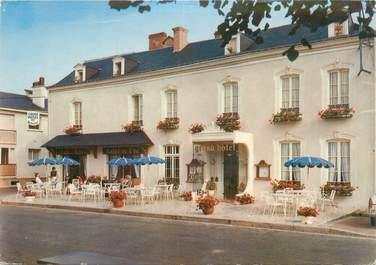 """CPSM FRANCE 72 """"Solesmes, grand hôtel"""""""
