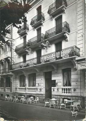 """CPSM FRANCE 65 """"Lourdes, hôtel du bon Pasteur"""""""