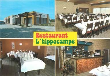 """CPSM FRANCE 66 """"Pezzila La Rivière, restaurant l'hippocampe"""""""