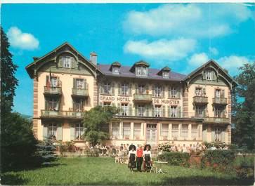 """CPSM FRANCE 68 """"Munster, grand Hôtel de Munster"""""""