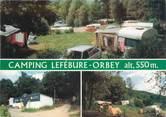 "68 Haut Rhin CPSM FRANCE 68 ""Orbey, camping Lefébure"""