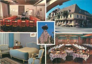 """CPSM FRANCE 68 """"Ribeauvillé, hôtel au Nid de Cigognes"""""""