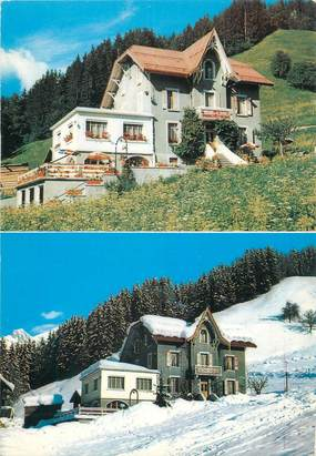 "CPSM FRANCE 74 ""Le Grand Bornand, hôtel pension Les Glaieuls"""