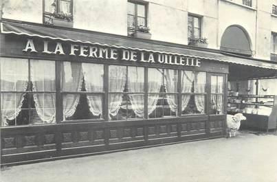 """CPSM FRANCE 75019 """"Paris, restaurant à la ferme de la Vilette"""""""