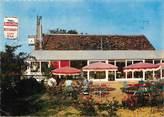 """37 Indre Et Loire CPSM FRANCE 37 """"Villedomer, restaurant au Gai Printemps"""""""
