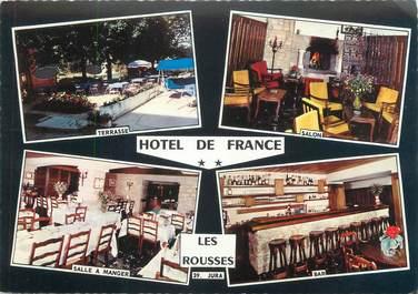 """CPSM FRANCE 39 """"Les Rousses, hôtel de France"""""""