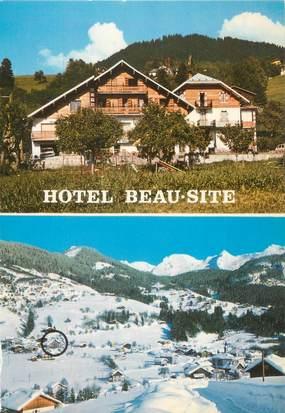 """CPSM FRANCE 74 """"Saint Jean de Sixt, hôtel Beau Site"""""""