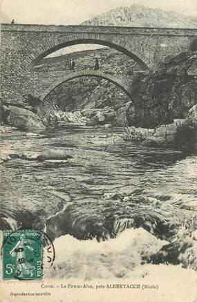 """CPA FRANCE 20 """"Corse, le Ponte Alto près Albertacce"""""""
