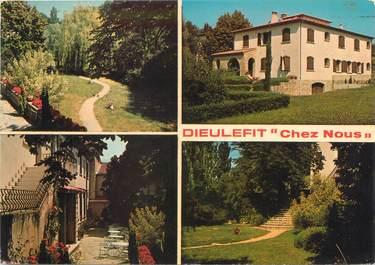 """CPSM FRANCE 26 """"Dieulefit, hôtel Chez Nous"""""""