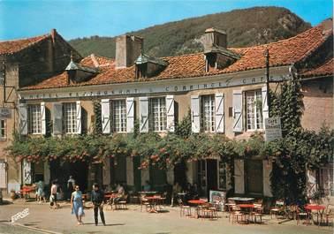 """CPSM FRANCE 31 """"Saint Bertrand de Comminges, hôtel restaurant de Comminges"""""""