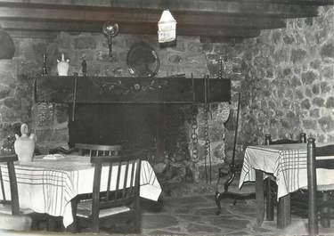 """CPSM FRANCE 43 """"Le Chambon sur Lignon, hôtel restaurant A. Chomettes """""""