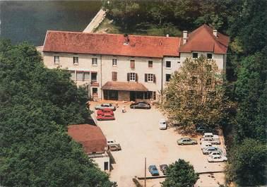 """CPSM FRANCE 38 """"Morestel, hôtel restaurant Auberge de Roche Plage"""""""