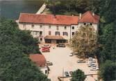 """38 Isere CPSM FRANCE 38 """"Morestel, hôtel restaurant Auberge de Roche Plage"""""""