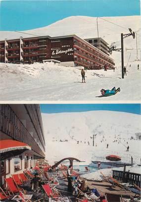"""CPSM FRANCE 38 """"Les deux Alpes, hôtel la Berangère"""""""