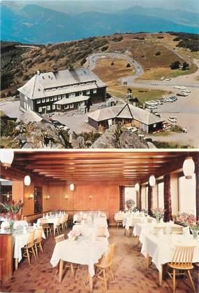 """CPSM FRANCE 88 """"Grand Ballon, l'une des salles du restaurant"""""""