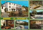 """44 Loire Atlantique CPSM FRANCE 44 """"Gervaux Clisson, auberge La Cascade"""""""