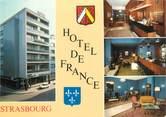 """67 Ba Rhin CPSM FRANCE 67 """"Strasbourg, hôtel de France"""""""