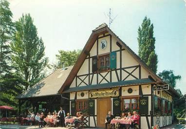 "CPSM FRANCE 67 ""Strasbourg, restaurant S'Wacke Hiesel"""