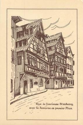 "CPSM FRANCE 67 ""Strasbourg, Café restaurant Lohkas dit Taverne des Tanneurs"""