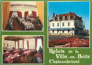 """CPSM FRANCE 44 """"Châteaubriant, Hôtel relais de la Ville en Bois"""""""