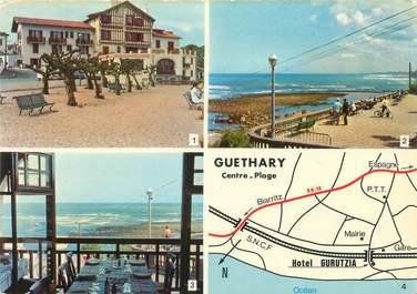 "CPSM FRANCE 64 ""Guethary, hôtel restaurant Gurutzia"""