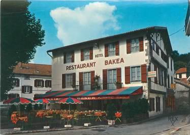"CPSM FRANCE 64 ""Ciboure, hôtel restaurant Bakéa"""
