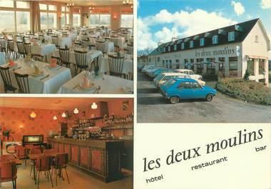 """CPSM FRANCE 35 """"Créhen, hôtel restaurant les Deux Moulins"""""""
