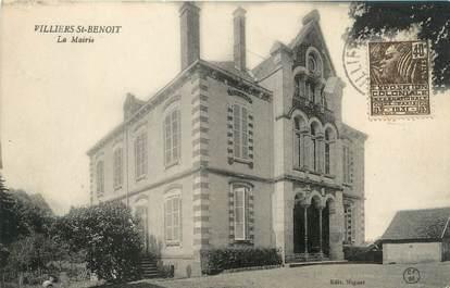 """CPA FRANCE 89 """"Villiers Saint Benoit, la mairie"""""""