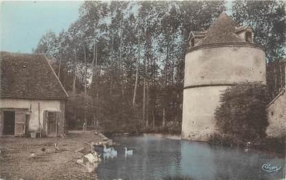 "CPA FRANCE 89 ""Villefranche Saint Phal, château Féodal"""