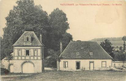 "CPA FRANCE 89 ""Vauluisant, le moulin"""