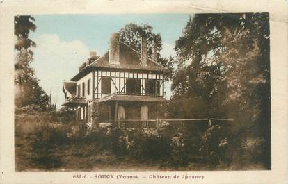 """CPA FRANCE 89 """"Soucy, château de Jouancy"""""""