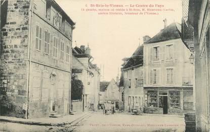 """CPA FRANCE 89 """"Saint Bris le Vineux, le centre du pays"""""""
