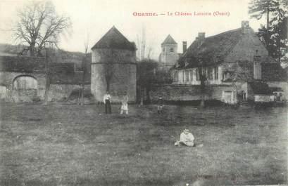 """CPA FRANCE 89 """"Ouanne, le château"""""""