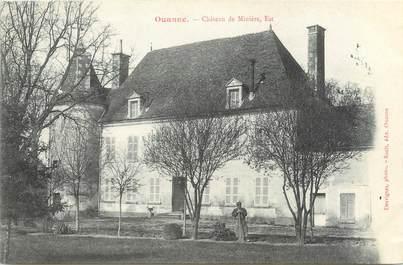 """CPA FRANCE 89 """"Ouanne, château de Minière """""""