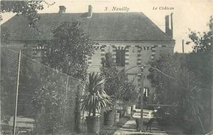"""CPA FRANCE 89 """"Neuilly, le château"""""""