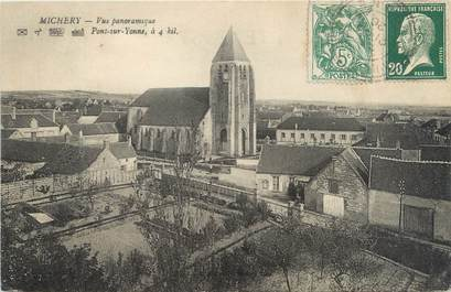 "CPA FRANCE 89 ""Michery, vue panoramique"""