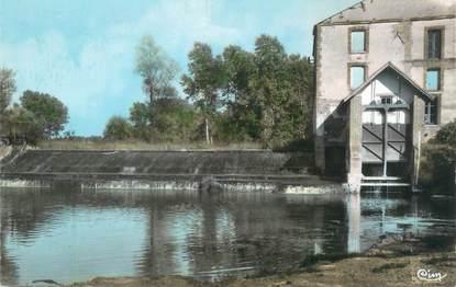"""CPSM FRANCE 89 """"Héry, barrage de l'usine électrique"""""""