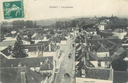 "CPA FRANCE 89 ""Flogny, vue générale"""