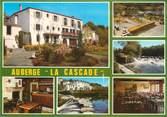 """44 Loire Atlantique CPSM FRANCE 44 """"Gervaux Clisson, auberge La Cascade """""""