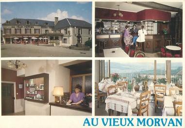 """CPSM FRANCE 58 """"Château Chinon, hôtel restaurant au vieux Morvan"""""""