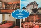 """23 Creuse CPSM FRANCE 23 """"Dun Le Pastetel, hôtel de France"""""""