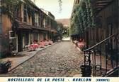 """89 Yonne CPSM FRANCE 89 """"Avallon, hostellerie de la poste"""""""