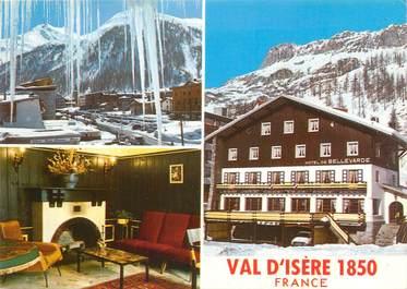 """CPSM FRANCE 73 """"Val d'Isère, hôtel Bellevarde"""""""